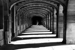 In passing under vaults (pascalcolin1) Tags: paris homme man voutes vaults ombres shadows lumière light photoderue streetview urbanarte noiretblanc blackandwhite photopascalcolin