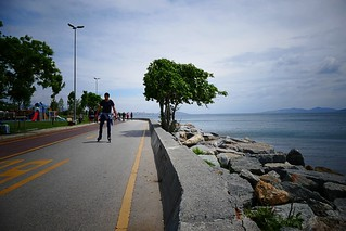 Coastal promenade in Suadiye