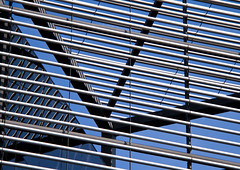 Building Abstract #76 - explored (Joseph Pearson Images) Tags: building architecture london blue abstract 6morelondonplace normanfoster fosterandpartners lookingup reflections geometric lines pattern