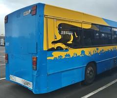 North Star MAN SG 240 #2025 (CR1 Ford LTD) Tags: buses ak nz man bus sg240 gowest northstar nzbus bendie bendy artic articulated urban ara ybc yellow transport cwi coach works international metrolink waka pacific