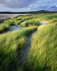 Ardroil Dunes (Tim Allott) Tags: traighuige beach sand wind longexposure shoreline sea marramgrass dunes uigsands uig isleoflewis outerhebrides scotland pentaxk3
