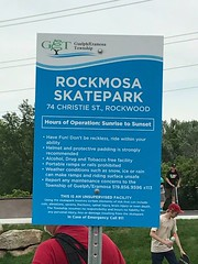 We had a great time at the official opening of Rockmosa Skatepark in Rockwood, ON. Another successful️ #canada150 project!