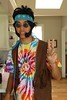 Will (nicolemarcos) Tags: 70s hippy hippie hippies hippys tie dye rainbow guy man smile glasses bandana portrait portraits ocean life people person boy photo photography photos yellow tan colors
