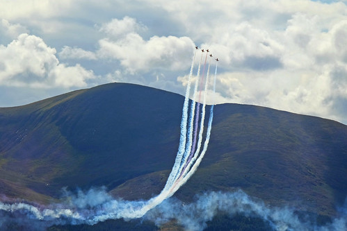 Red Arrows Mournes