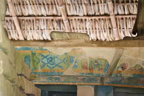 remains of painting (small tajin)