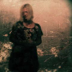 Silence and Noise (lorenka campos) Tags: artdigital fineart modernart art mobileartistry melancholy selfportrait portraits