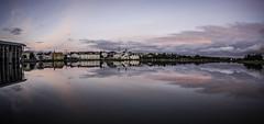 Reykjavik Pond Tonight (fridgeirsson) Tags: canon fisheye 15mm abigfave