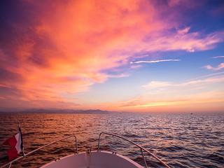 Sunrise Antibes France