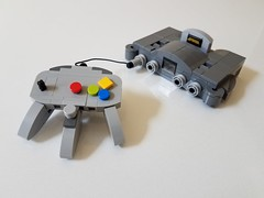 Lego Nintendo 64 (-Solid-State-) Tags: video game nintendo console lego custom system moc 64 n64