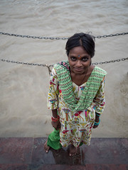 Indian lady (avati91) Tags: portrait india haridwar gange river ganga zuiko olumpus omd em5 17 18