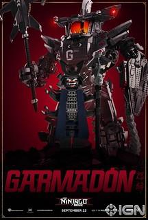 The LEGO Ninjago Movie character poster garmadon