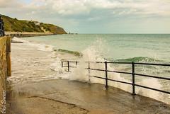 wave (philbarnes4) Tags: folkestone kent england water spray wave philbarnes dslr nikond80 harbour