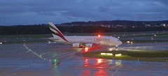 ZHR/LSZH: Emirates Airbus A380-861 A6-EUI (Roland C.) Tags: emirates emiratesairlines a380 a388 a380800 a380861 a6eui zrh lszh airport zurich switzerland aircraft airplane airliner