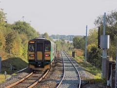 Departing Cannock (simonjohn4) Tags: class153 class170 turbostar londonmidlaand train cannock railway walsall birmingham