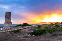 Sunset at Torre de los Ladrones, Marbella (KGR_) Tags: sunset sonnenuntergang marbella spanien spain costa del sol sommer summer sonne nikon wide angle weitwinkel farben colors natur nature ausblick view d7100 sigma 1020 35