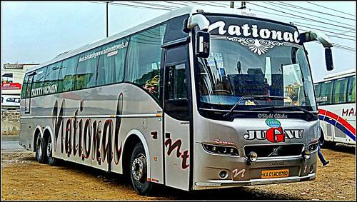 National Travel Volvo B9r Semi Sleeper Bus A Photo On