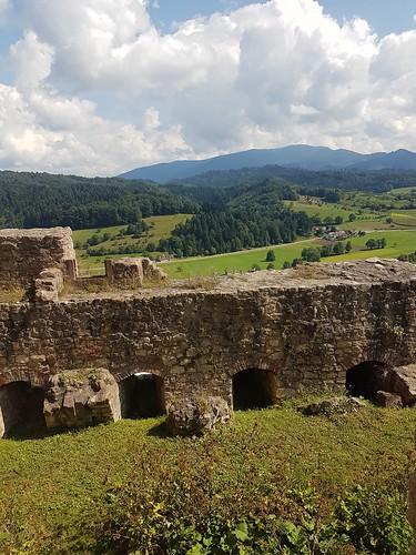 Ausblick Burgruine Hochburg