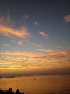 Summer sunset..