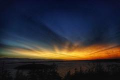 Tonight's Sunset (photo fiddler) Tags: sunset novascotia shadbay august 2017