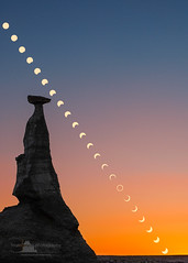 Annular Solar Eclipse 5/2012 (www.fourcorners.photography) Tags: bisti eclipse newmexico solar annularsolareclipse may202012 badlands hoodoo peterboehringerphotography fourcornersphotography