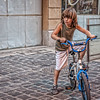 Lebanese (French) boy on bike by outdoor restaurant (Pejasar) Tags: boy lebanese french child bike bicycle playstreet downtown beirut lebanon