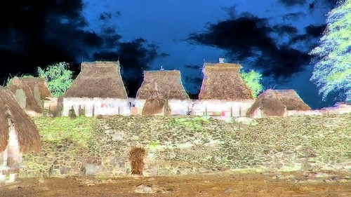 Indonesia - Flores - Traditional Village Bena - 96bb