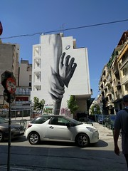 Reach out - Athens street art (ashabot) Tags: athens greece athensgreece streetart streetscenes