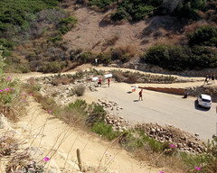 013 Looking For The Trailhead Clue (saschmitz_earthlink_net) Tags: 2017 california orienteering laoc losangelesorienteeringclub venturacounty ventura
