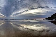 R.S.V.P. (pauldunn52) Tags: southerndown beach glamorgan heritage coast wales wet sand sky clouds reflection