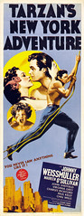 Tarzan's New York Adventure (1942, USA) - 06 (kocojim) Tags: publishing illustrated kocojim johnnysheffield poster johnnyweissmuller maureenosullivan film advertising illustration motionpicture movieposter movie