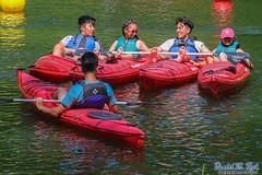 Lake Loungers (Daniel M. Reck) Tags: 2017nationalscoutjamboree 2017jambo bsa boyscoutsofamerica dmrfeature dmrphoto glenjean lakebravo mounthope nsj nationalscoutjamboree sbr scouting smiling summitbechtelreserve tridavelake venturer venturing westvirginia year2017 boat boating kakayking kayak kayaking paddle paddling relaxing smile water wet unitedstates