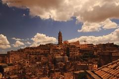 Matera (- Crupi Giorgio (official)) Tags: italy basilicata matera city stones sky clouds landscape canon canoneos7d sigma sigma1020mm