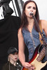 Jordan And Eliza (peterkelly) Tags: digital panasonic lumix zs50 concert music festival canada northamerica 2017 toronto ontario echobeach cbcmusicfestival thebeaches woman hot beautiful musician mic microphone mike jordanmiller guitar player playing guitarist singer singing drummer elizaenmanmcdaniel hat