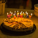 Eddy's birthday cheesecake