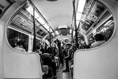 London Tube (The Ultimate Photographer) Tags: london england uk underground tube metro blackandwhite monochrome streetphotography canon6d people peopleinthetube tired londontube momentoflife lifeonthetube londonunderground transport ultimatephotographer