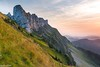Teeth - Schrattenfluh (Captures.ch) Tags: 2016 alps black blue brown clear cliffs evening fallswiss gray green hike hiking hills lucern luzern mountains old orange pink red schrattenflue schrattenfluh schweiz september sky sörenberg stones sunset switzerland violet white yellow