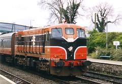 Irish Rail 185 in Kildare Station. (Fred Dean Jnr) Tags: april1999 iarnrodeireann irishrail generalmotors electromotivedivision kildare kildarestation 185
