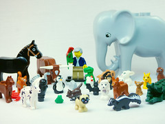 Brick Yourself Custom Lego Celebrity Minifigure David Attenborough