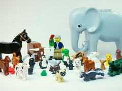 Brick Yourself Custom Lego Celebrity Minifigure David Attenborough