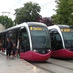 Dijon: Divia Trams 1023 and 1009 thumbnail