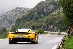 Enzo (Clément | www.carbonphoto.fr) Tags: ferrari enzo jaune yellow gottarhd pass saint gothard switzerland suisse soc car auto voiture automobile coche supercar luxe luxury nikon d300s
