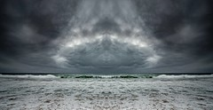 Alien landing (Martin Snicer Photography) Tags: clouds drama ocean fineartphotography