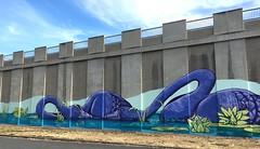 swans (Grenzeloos1) Tags: chapelhill reservoir mural greenhill brisbane 2017