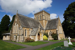 Holy Trinity Church, Lyne and Longcross (p.mathias) Tags: church churches surrey england uk europe sony a5100 csc unitedkingdom history historic historical building buildings architecture rural tree sky grass