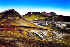 Mountains, Central Iceland (klauslang99) Tags: klauslang nature naturalworld iceland mountains colour volcanic landscape ngc ing