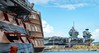 Old & New (stevevalentine79) Tags: victory queenelizabeth aircraftcarrier ships portsmouth dockyard navy