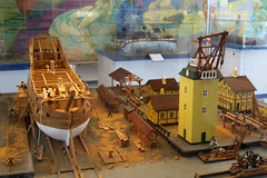A model of the shipyard at Holmen at Springeren Maritimt oplevelsescenter, 16. september 2017. Foto: Per Ryolf (perryolf) Tags: fotoperryolf aalborg springerenmaritimtoplevelsescenter ubåd mtb torpedobåd ship ships schiff schiffe skibe skib marinemuseum