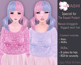 [^.^Ayashi^.^] Nessa hair special for The Kawaii Project