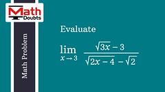 Math Problem (Math Doubts) Tags: calculus calculusproblem calculusproblemsolution calculusproblems calculusproblemssolution limitproblem limitproblems limitproblemsolution