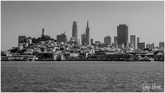 A Changing Sky line (RudyMareelPhotography) Tags: bw coittower northamerica salesforcetower transamericapyramid sanfrancisco skyline california unitedstates us flickrclickx flickr ngc